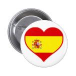 Amor de España Pin