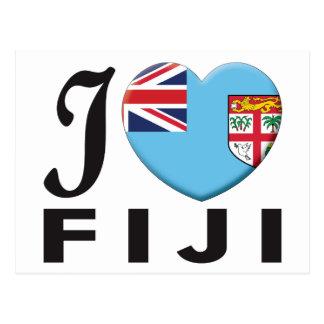 Amor de Fiji Tarjetas Postales