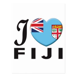 Amor de Fiji Tarjeta Postal