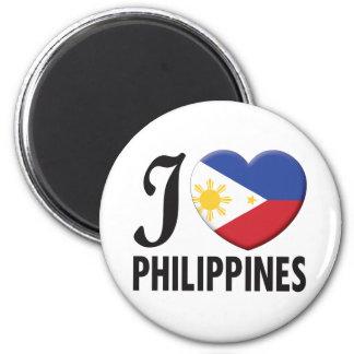 Amor de Filipinas Imán Redondo 5 Cm