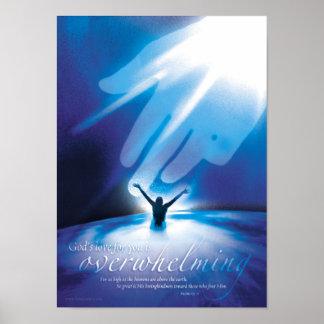 AMOR DE FORMA APLASTANTE - posters religiosos cris
