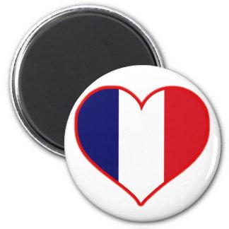 Amor de Francia Imán Redondo 5 Cm