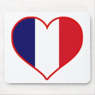 Amor de Francia Tapete De Raton