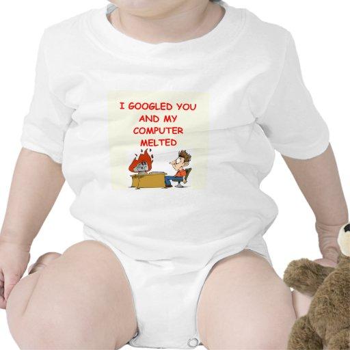 amor de google traje de bebé