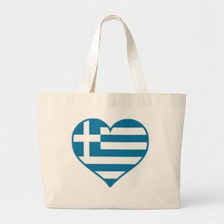 Amor de Grecia Bolsa Tela Grande