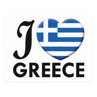 Amor de Grecia Tarjetas Postales