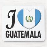 Amor de Guatemala Alfombrilla De Ratones