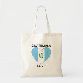 Amor de Guatemala Bolsa Tela Barata