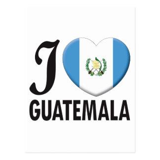 Amor de Guatemala Postal