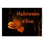 Amor de Halloween Felicitacion