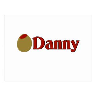 (Amor de I) Danny verde oliva Tarjetas Postales
