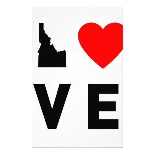 Amor de Idaho Papelería