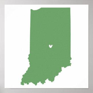 Amor de Indianapolis, Indiana Póster