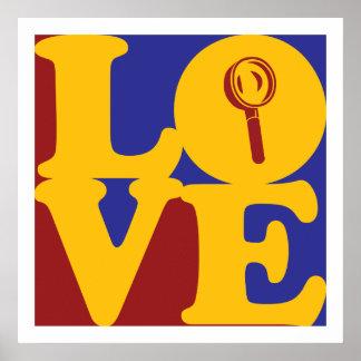 Amor de investigación poster