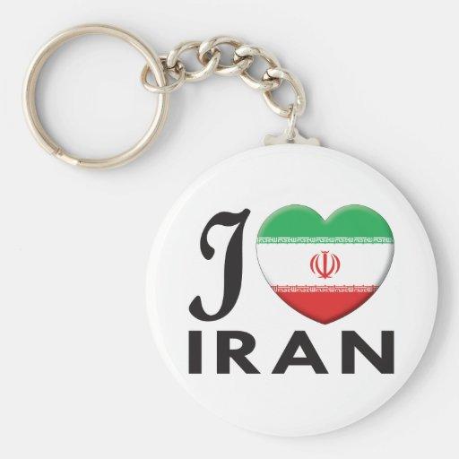 Amor de Irán Llavero Personalizado