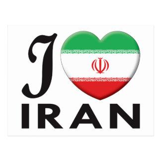 Amor de Irán Postales