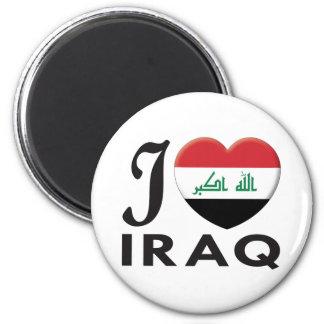 Amor de Iraq Imán Redondo 5 Cm