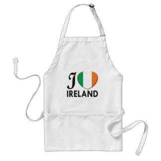 Amor de Irlanda Delantal