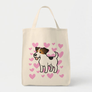 Amor de Jack Russell Terrier Bolsa De Mano
