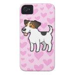 Amor de Jack Russell Terrier iPhone 4 Coberturas