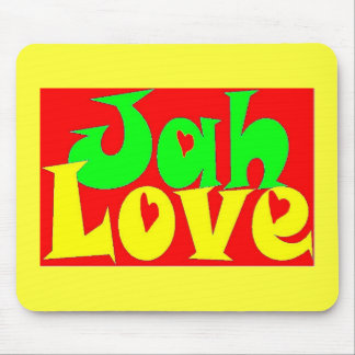 Amor de Jah Alfombrilla De Ratón