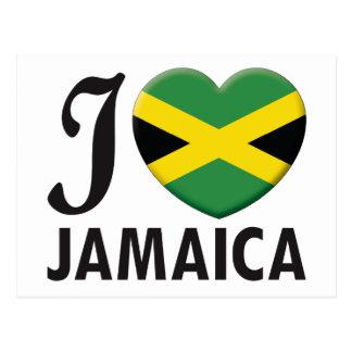 Amor de Jamaica Tarjetas Postales