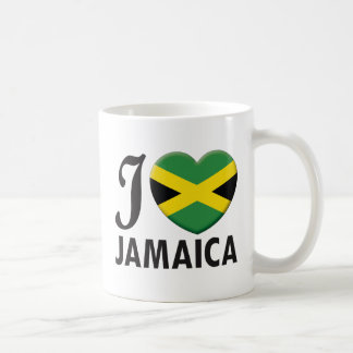 Amor de Jamaica Taza Básica Blanca