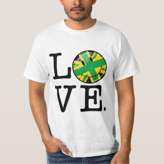 Amor de Jamaica y de Gran Bretaña Playera
