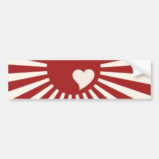 Amor de Japón Pegatina Para Auto