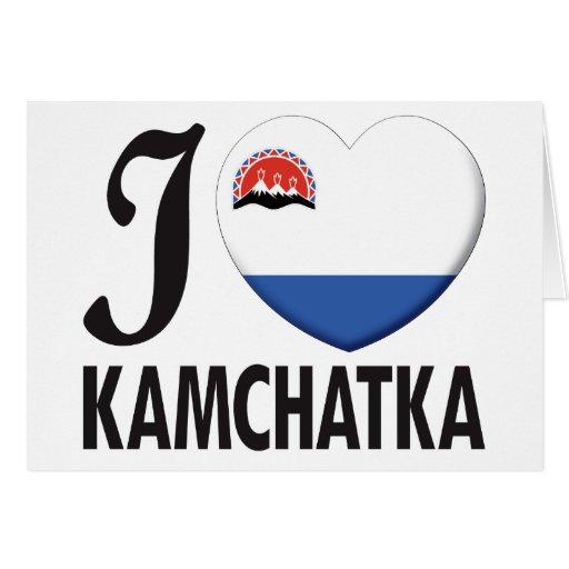 Amor de Kamchatka Tarjeton