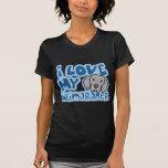 Amor de Kawaii I mi Weimaraner Camiseta