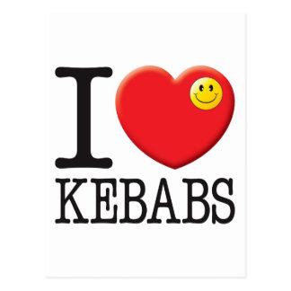 Amor de Kebabs Postales