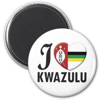 Amor de KwaZulu Imán Redondo 5 Cm