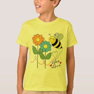 Amor de la abeja remeras