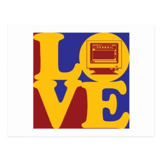 Amor de la autoedición tarjetas postales