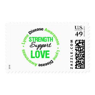 Amor de la ayuda de la fuerza de la enfermedad de sello