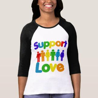 Amor de la ayuda - matrimonio homosexual t-shirts