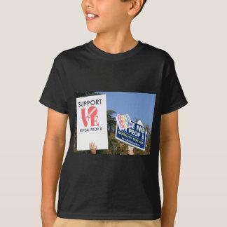 Amor de la ayuda, no odio - no en el apoyo 8 camisas