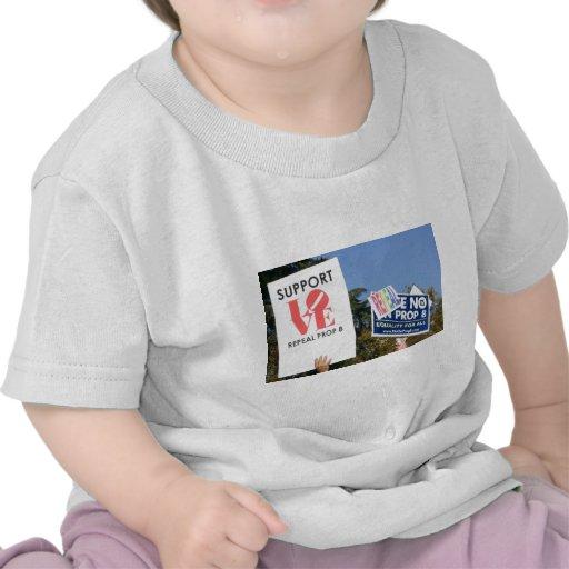 Amor de la ayuda, no odio - no en el apoyo 8 camisetas
