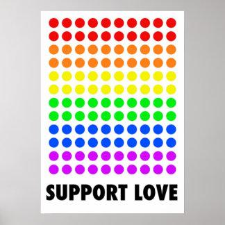 Amor de la ayuda póster