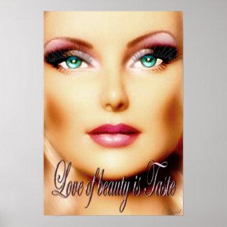 Amor de la belleza (poster) póster