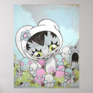 ¡Amor de la boogie de BunnyKitty Poster