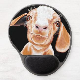 Amor de la cabra alfombrilla de raton con gel