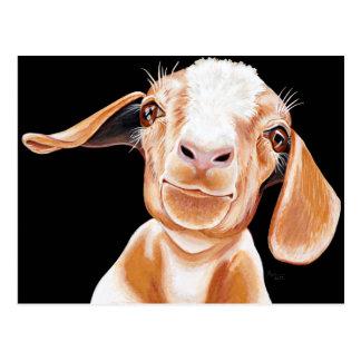 Amor de la cabra postal