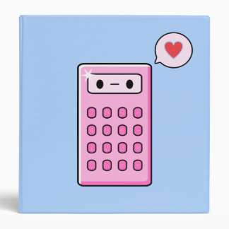 """Amor de la calculadora carpeta 1 1/2"""""""