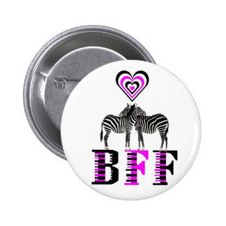 Amor de la cebra - BFF Pins
