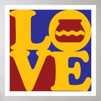 Amor de la cerámica poster