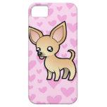 Amor de la chihuahua (capa lisa) iPhone 5 carcasas