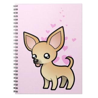 Amor de la chihuahua (capa lisa) libreta
