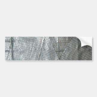 Amor de la cinta aislante etiqueta de parachoque